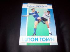 Luton Town v Liverpool, 1987/88